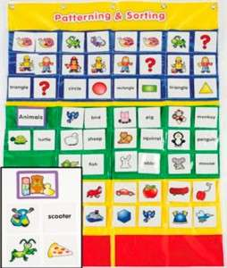 Sequence SORTING POCKET CHART Teacher Daycare Preschool