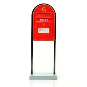 Vintage Red Post Boxes Coin Money Bank: Electronics