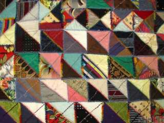 to view additional images antique american victorian crazy quilt circa