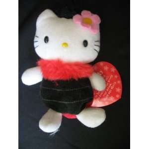 1999 Sanrio Hello Kitty 6 Ladybug Plush/Bean Bag Toys