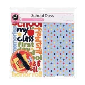 New   Scrapbook Page Kit 12X12 by Pebbles Arts, Crafts