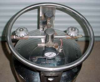 CL50 50 Liquid Nitro Nitrogen Cryo Cryogenics Dewar Tank Semen