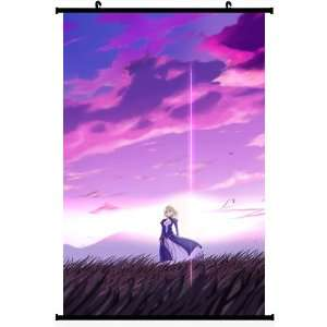 Home Decor Japanese Anime Wall Scroll Poster Fate Stay
