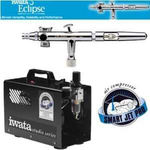 IWATA ECLIPSE HP SBS AIRBRUSH SYSTEM WITH SMART JET PRO