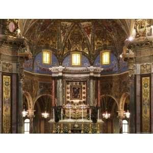 Madonna del Rosario Church Pompeii Italy Premium