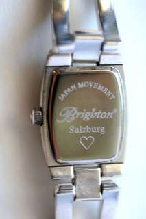 Brighton SALZBURG Watch Swarovski Crystals/Leather NWT