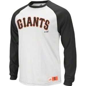 San Francisco Giants Youth adidas Long Sleeve Raglan T Shirt