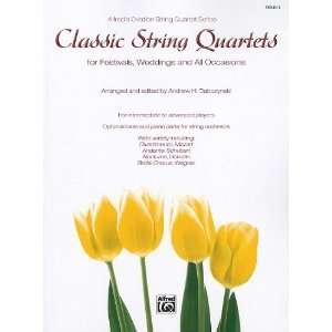 Alfreds Ovation String Quartet Series) Andrew H. Dabczynski