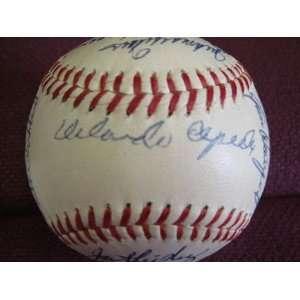 1960 San Francisco Giants Team Signed Baseball Sports