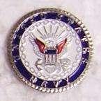 Hat Lapel Push Tie Tac Pin U S Navy emblem NEW