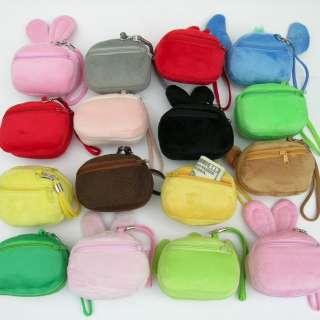 Cartoon Shopping Bag Recycle Foldable Plush Toy Purse Wallet Hand Bear