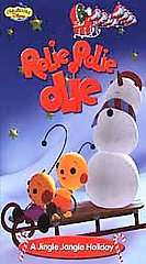 Rolie Polie Olie A Jingle Jangle Holiday VHS, 2001, Clam Shell Case