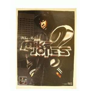 Mike Jones Poster Promotional Who Is Face Shot: Everything