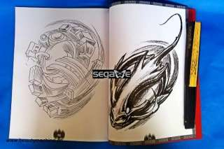 Demon & Totem Tattoo SKETCHBOOK FLASH MAGAZINE ART BOOK