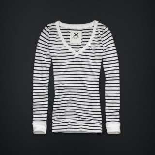 NWT Gilly Hicks by Abercrombie Camdenville LongSleeve Tee T Shirt