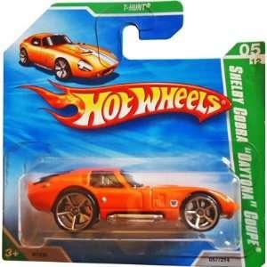 2010 Hot Wheels T HUNT (Orange) Shelby Cobra Daytona Coupe #57/214