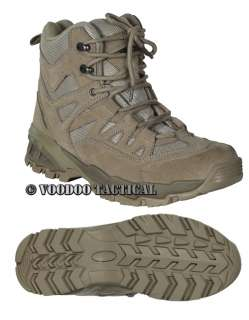 Low Cut 6 Inch Desert Tan Boot from Voodoo Tactical