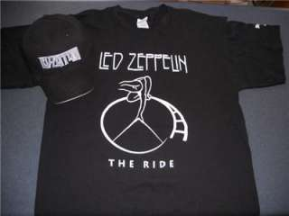 BUNDLE BLACK FITTED HAT & HARD ROCK CAFE PARK THE RIDE SHIRT