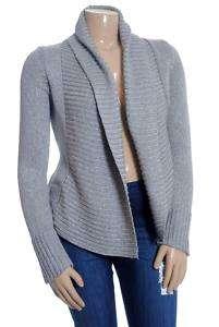 INC Rib Trim Open Cardigan Sweater Sz L $79