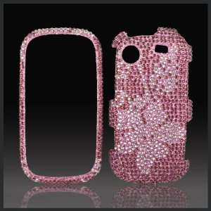 Lilac Flower Cristalina crystal bling case cover for