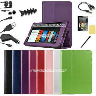 Leather Kindle Fire Stand Case 10 in 1 $12.89 Leather Kindle