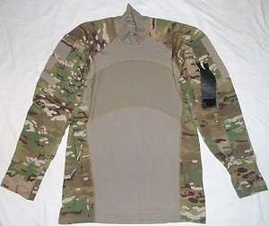 Massif MultiCam Army Combat Shirt NWT ACS Flame Resistant Size Medium