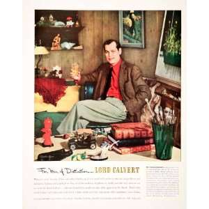 1951 Ad Lord Calvert Blended Whiskey Stevan Dohanos