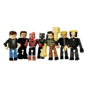 Marvel Minimates 2 Packs Series 17 Spider Man 3 Movie