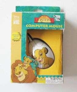 Disneys The Lion King Computer Mouse   NIB