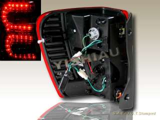 JEEP GRAND CHEROKEE LED TAIL LIGHTS RED PAIR 99 00 01 02 03 04