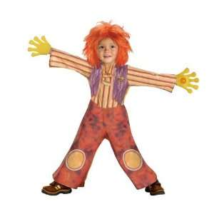 Doodlebops Moe Doodle Deluxe Costume (Child Toddler 3t 4t
