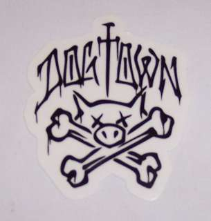 New Dog Town Pig Drip 3 1/2 Sticker Decal Skateboard