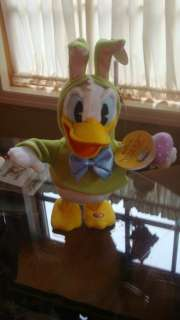 ANIMATED SINGING DONT PULL MY EARS 14 PLUSH DONALD DUCK ~ NWT