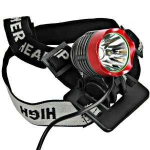 Cree Xm l T6 1200l Led Bicycle Bike Head Light Lamp Red