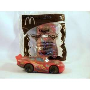 Disney Cars 2006 McDonalds Toy #1 Lightning McQueen Toys