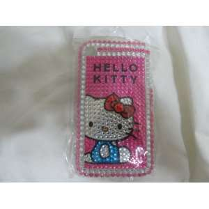 #27 Studded Slim Rhinestone Hello Kitty Iphone 2g 3g 3gs