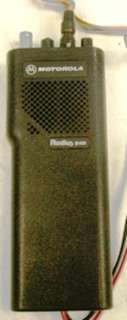 What you are bidding on is a Qty: 2 Motorola Radius P50 Handie Talkie