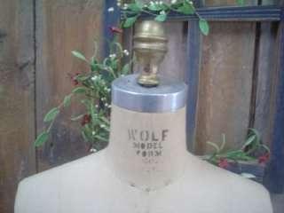 Wolf 12 1979 Dress Form