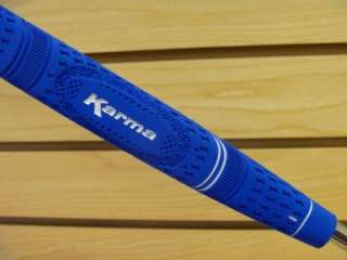 Brand New Karma Dual Touch Midsize Putter Grip Blue