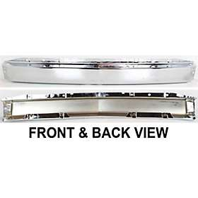 New Front Bumper Reinforcement 15941850 Chrome Chevy Truck Silverado