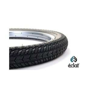 eclat Command Tire 20 x 2.30, Wire Bead, Black: Sports