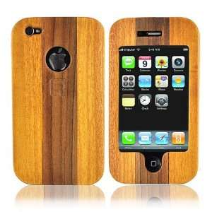 Eco Design Apple iPhone 4 Wood Slide Case LIGHT BROWN