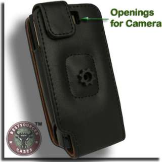 Authentic Leather Flip Case for HTC Pure ATT Holster