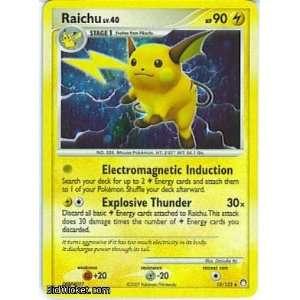 Raichu (Pokemon   Diamond and Pearl Mysterious Treasures   Raichu