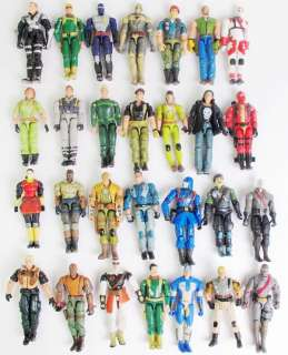 lot 20 GI JOE Cobra 3.75 Action Figure w/40 weapons