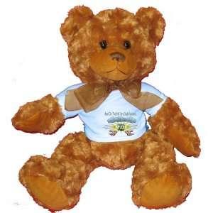 Day God Created POLO Plush Teddy Bear with BLUE T Shirt Toys & Games