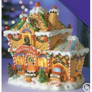 com Christmas Village Collection ~ HOME SWEET HOME Gingerbread House