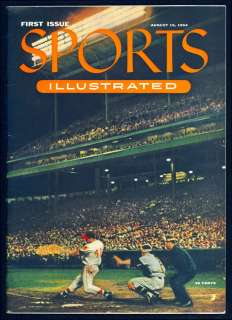 1954 Sports Illustrated #1 +cards and original mailer