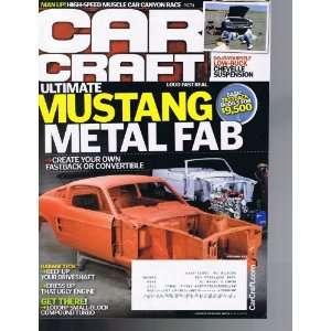 CAR CRAFT MAGAZINE NOVEMBER 2010 MUSTANG METAL FAB Various Books