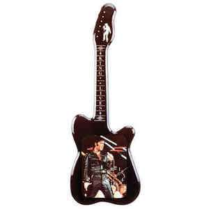 Elvis Presley Guitar Shaped Wall Clock